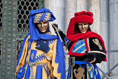 Carnival masks, Venice, Italy Royalty Free Stock Photos