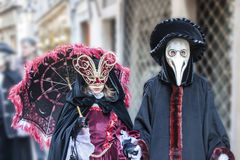 Carnival masks in Venice Royalty Free Stock Images