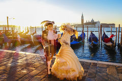 Carnival masks in Venice, Italy Royalty Free Stock Photography