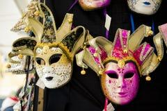 Carnival masks Venice, souvenirs Royalty Free Stock Photos