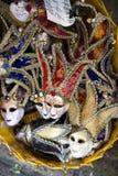 Carnival masks Venice, souvenirs Stock Images