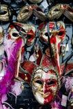 Carnival masks Venice, souvenirs Stock Photography
