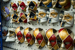 Carnival masks Venice, souvenirs Royalty Free Stock Images