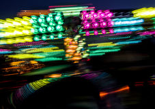 Carnival midway lights Stock Photo