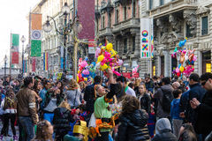 Carnival milan Stock Photography