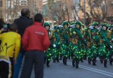 Carnival militia Stock Image