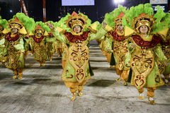 Carnival 2017 - Mocidade Independente de Padre Miguel Royalty Free Stock Image