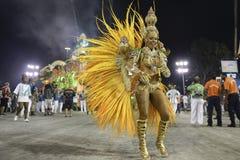 Carnival 2017 - Mocidade Independente de Padre Miguel Stock Photos