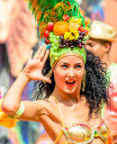 Carnival in Moscow, Russia Royalty Free Stock Photo