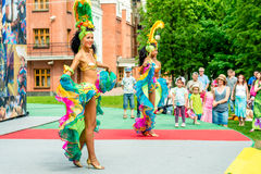 Carnival in Moscow, Russia stock photography