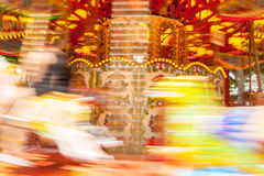 Carnival motion blur Royalty Free Stock Photography