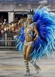 Carnival Muse Samba Dancer Brazil - Cintia Mellow Royalty Free Stock Images