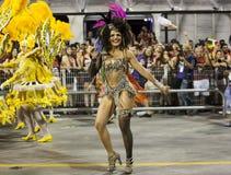 Carnival Muse Samba Dancer Brazil Stock Photography