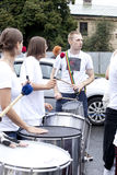 Carnival musicians Stock Photography