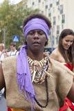 Carnival musicians Stock Photos