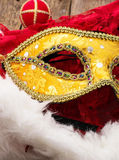 Carnival,new year's mask Stock Photos