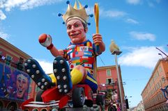 Carnival of Nice on February 21, 2012, France Royalty Free Stock Image
