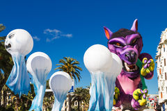 Carnival of Nice, France Royalty Free Stock Photography