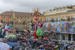 Carnival of Nice in French Riviera Royalty Free Stock Images