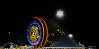 Carnival at night Stock Images