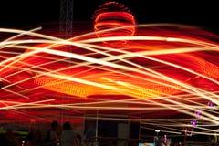 Free Carnival Night Lights Royalty Free Stock Image - 21745416