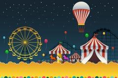 Carnival Night Poster Stock Photo