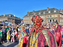 Carnival in nivelles Stock Photography