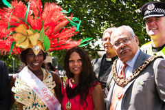 Carnival opening Royalty Free Stock Photo
