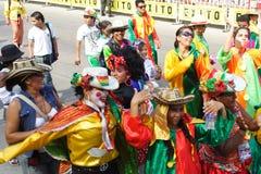 Carnival parade Royalty Free Stock Image