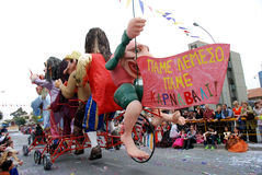 Carnival Parade, Limassol, Cyprus Stock Photography