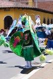 Carnival Parade in Banos, Ecuador Royalty Free Stock Photos