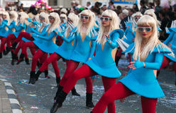 Carnival Parade, Cyprus Royalty Free Stock Photography