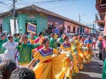 Carnival parade in Granada Royalty Free Stock Image