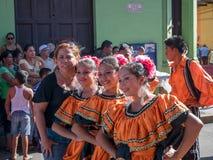 Carnival parade in Granada Stock Photography