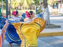 Carnival parade in Granada. Carnival parade with dancing People in Granada, Nicaragua Stock Photography