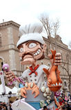 Carnival parade in Italy Stock Image