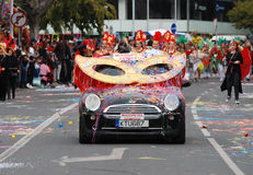 Free Carnival Parade, Limassol Cyprus 2015 Stock Photos - 51218643