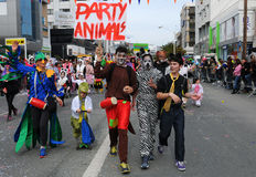Carnival Parade, Limassol Cyprus 2015 Royalty Free Stock Photos