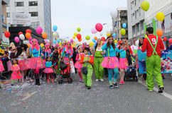 Carnival Parade, Limassol Cyprus 2015 Stock Images