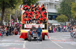 Carnival Parade, Limassol Cyprus 2015 Royalty Free Stock Photography