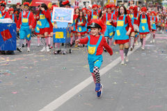 Carnival Parade, Limassol Cyprus 2015 Stock Photo