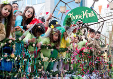 Carnival Parade, Limassol Cyprus 2015 Stock Photo