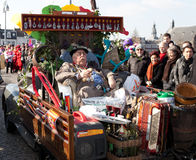 Carnival parade of Maastricht 2011 Royalty Free Stock Photo