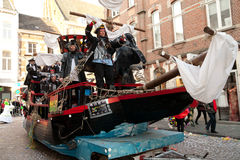 Carnival parade of Maastricht 2011 Royalty Free Stock Photography