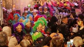 Carnival parade stock video