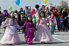 Carnival Parade, Nicosia Cyprus Stock Photo