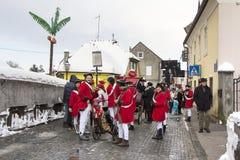 Carnival parade in Samobor Stock Photo