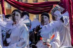 Carnival parades in Barcelona of Spain Royalty Free Stock Photos