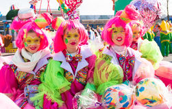 Carnival participants Stock Images