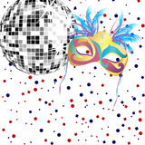 Carnival party Royalty Free Stock Photography